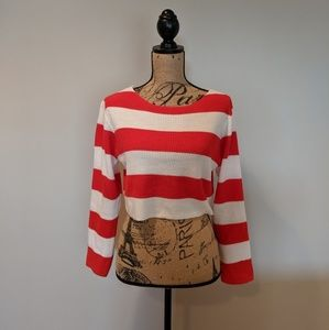 Where's Waldo? Cropped Sweater